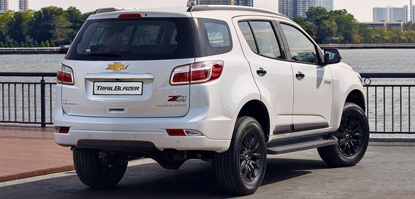 Chevrolet Trailblazer 2018 angular rear