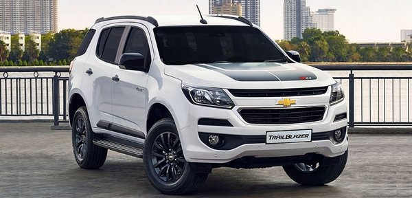 Chevrolet Trailblazer 2018 angular front