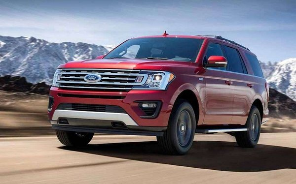 Ford Expedition 2018 angular front