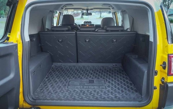 Attractive Toyota FJ Cruiser 2018 Cargo Space ...while Still Boosting A Cavernous  Cargo Space With Seats Up Design Ideas