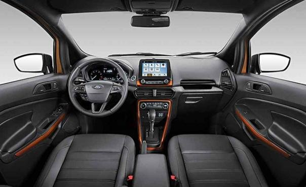 the Ford EcoSport Storm 2018's interior