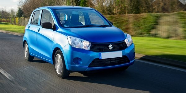 Suzuki Celerio 2018 on the road
