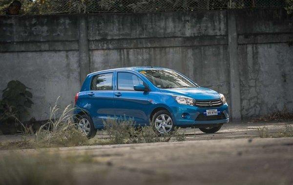 Suzuki Celerio 2018 angular front