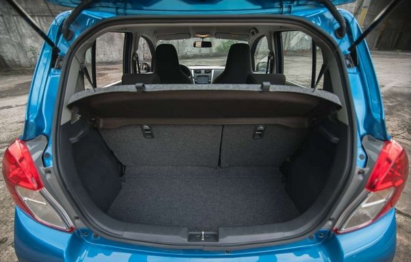 Suzuki Celerio luggage trunk