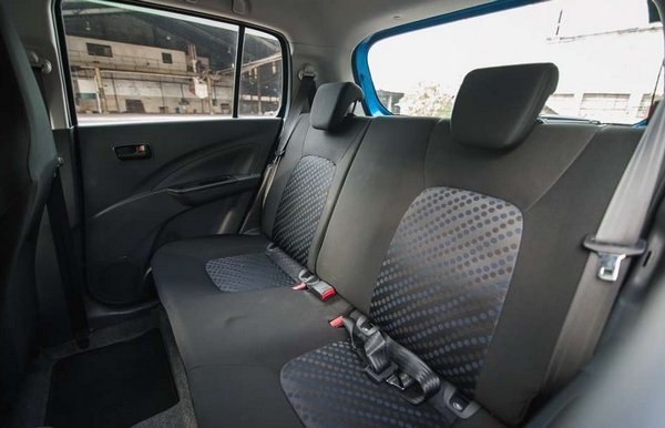 Suzuki Celerio 2018 seating