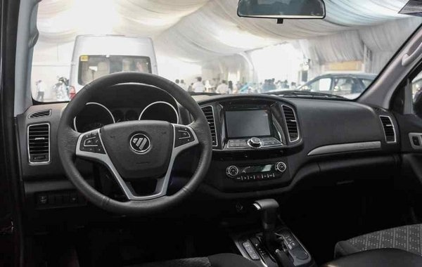Foton Thunder 2018 interior