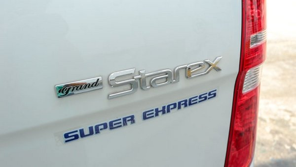 Hyundai Grand Starex Super Express badge