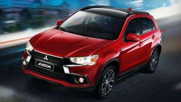 Mitsubishi ASX 2018 on the road