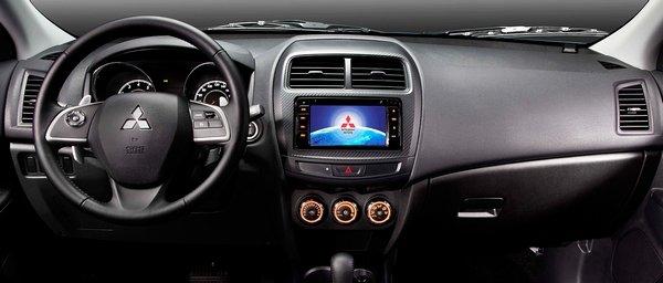 Mitsubishi ASX 2018 interior
