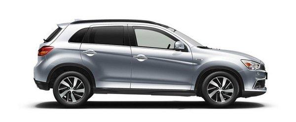 Mitsubishi ASX 2018 side view