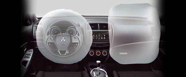 Mitsubishi ASX 2018 airbags