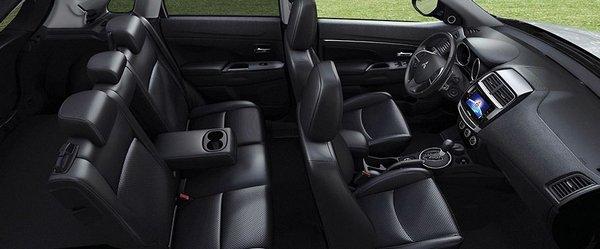 Mitsubishi ASX 2018 seating