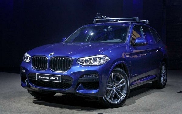 BMW X3 2018 angular front