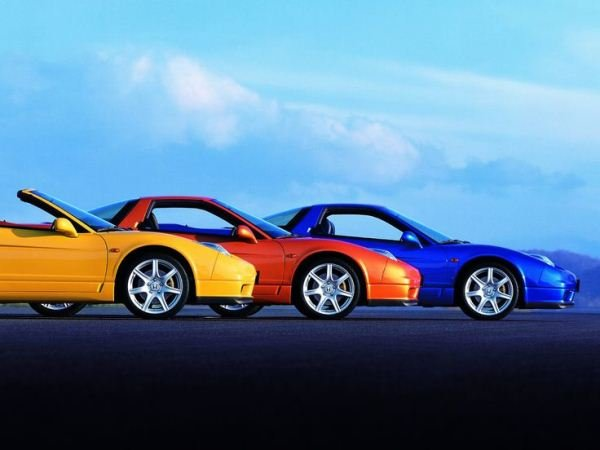 cars with different colors