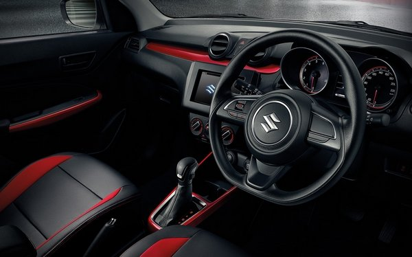 Suzuki Swift 2018 interior