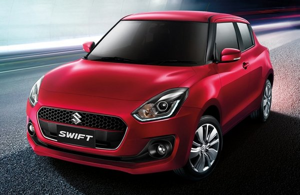 Suzuki Swift 2018 angular front