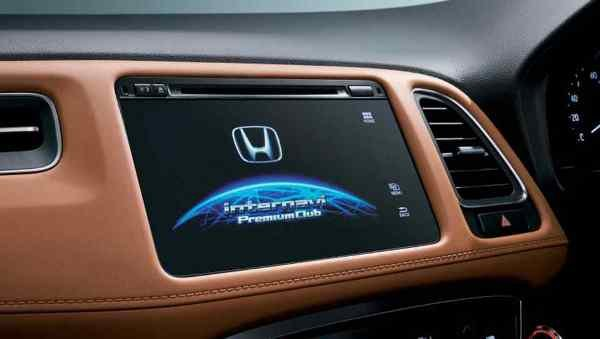 Honda HR-V 2018 facelift touchscreen