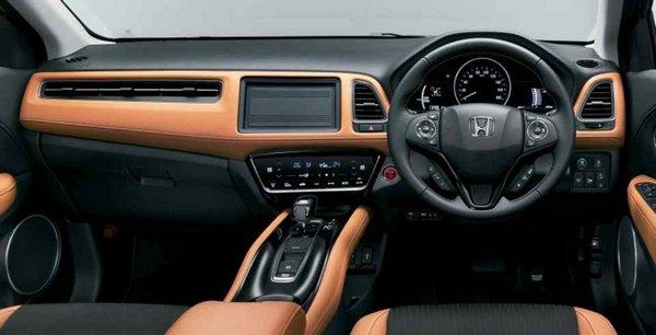 Honda HR-V 2018 facelift interior