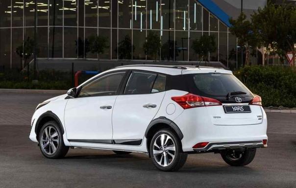Toyota Yaris Cross 2018 angular rear