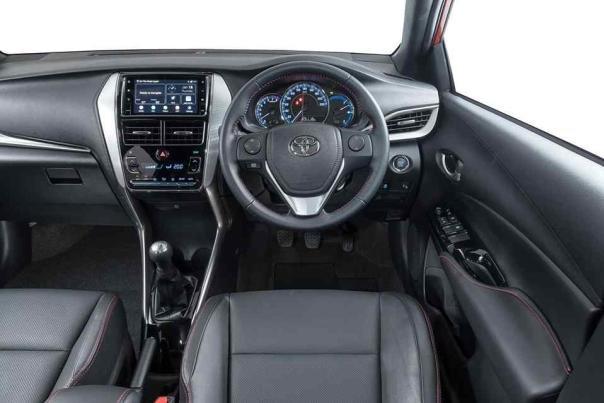 Toyota Yaris Cross 2018 interior