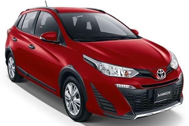 Toyota Yaris Cross 2018 angular front