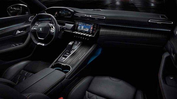 Peugeot 508 2019 interior