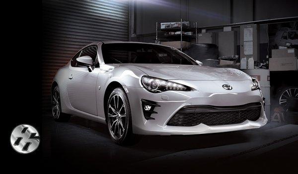 Toyota 86 2018 angular front