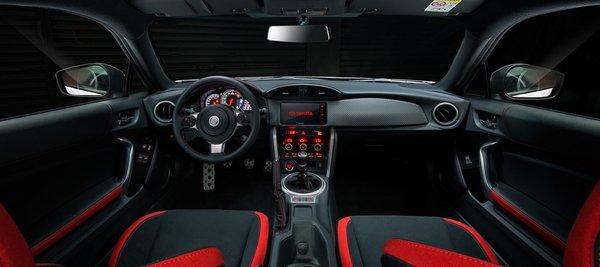 Toyota 86 2018 interior