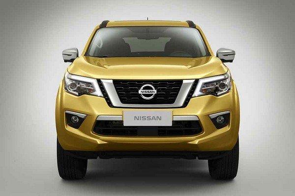 Nissan Terra 2018 exterior teaser image