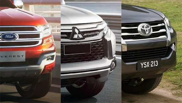 Everest vs montero vs fortuner