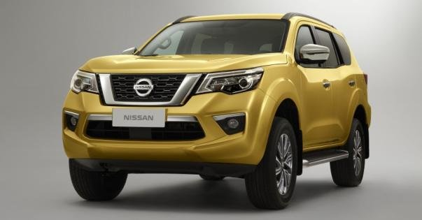 Nissan Terra 2018 teaser image angular front