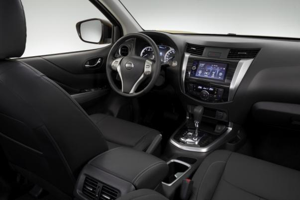 Nissan Terra 2018 teaser image interior