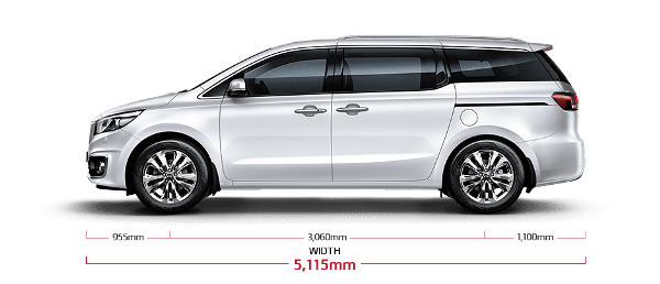Kia Carnival 2018 side view
