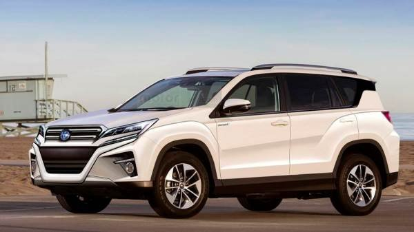 Toyota RAV4 2019 proposed rendering