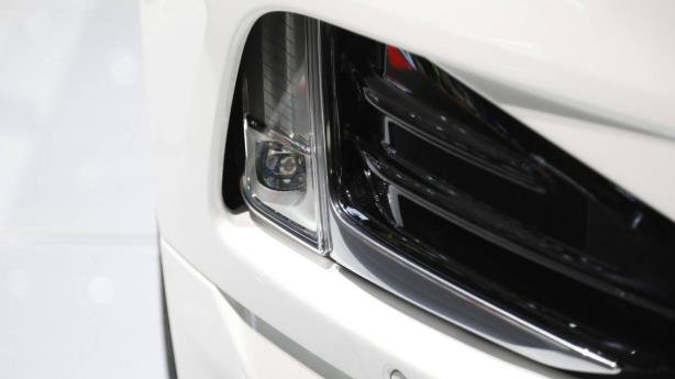 Ford Edge 2019 ST Line at Geneva Motor Show headlight