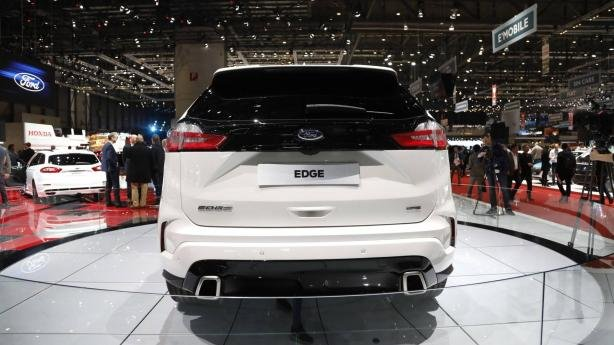 Ford Edge 2019 ST Line at Geneva Motor Show rear view