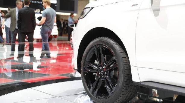 Ford Edge 2019 ST Line at Geneva Motor Show wheel
