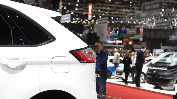 Ford Edge 2019 ST Line at Geneva Motor Show D pillar