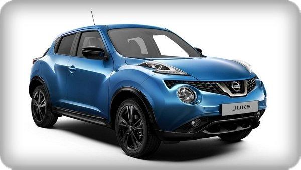 Nissan Juke 2018 facelift angular front