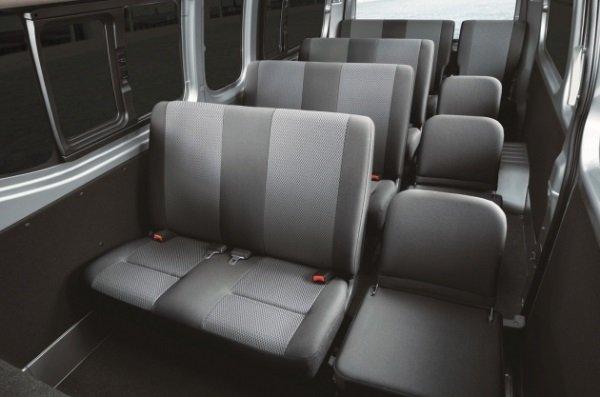 Nissan NV350 Urvan 2018 facelift cabin