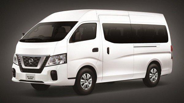 Nissan NV350 Urvan 2018 facelift angular front