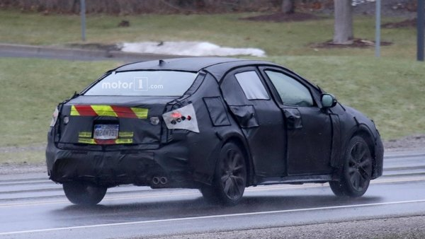 Toyota Corolla 2020 spy shot angular rear