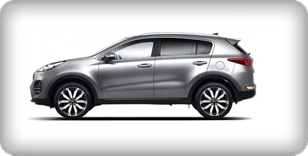 Kia Sportage 2.0L EX 2018 side view