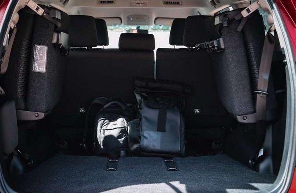 Toyota Innova Touring Sport 2018 cargo space