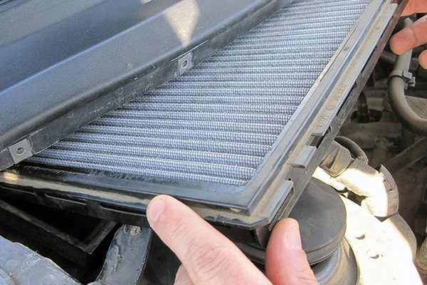 Automobile air conditioning system filter
