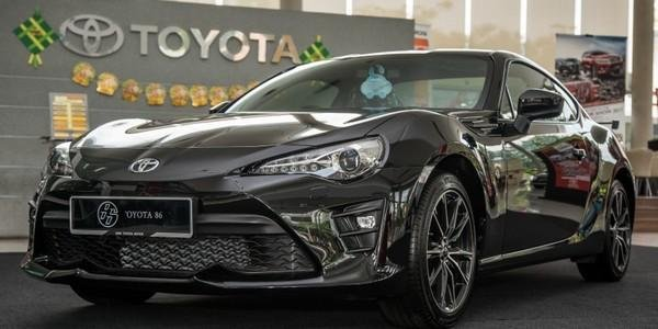 Toyota 86 2018 facelift in Malaysia angular front