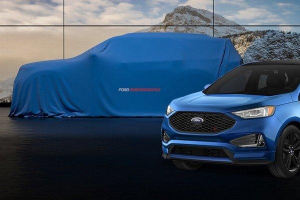 Ford Explorer ST 2020 angular front