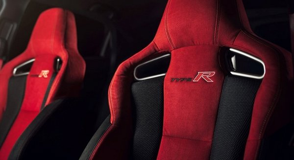 Honda Civic Type R 2018 seats