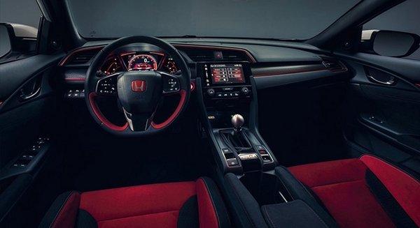 Honda Civic Type R 2018 Interior