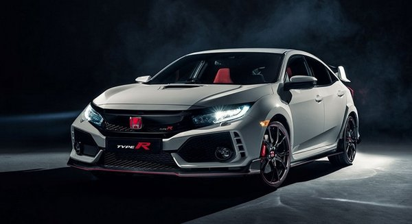 Honda Civic Type R 2018 angular front